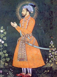 Shah Jahan from an old Persian miniature.