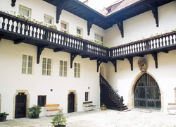 Wallenstein's house, scene of his assaination, Eger.